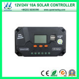 10A LCD Solar Charger Controller met Dual USB Output (qwp-VS1024U)