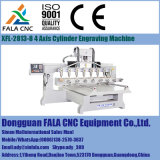 Mittellinie Xfl-2813-8 4 CNC-Fräser CNC-Gravierfräsmaschine für Holz