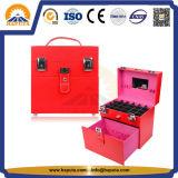 革フレーム(HB-6001)とのPVC釘及び宝石類の美の構成のケース