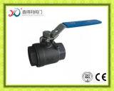 Valvola a sfera dell'estremità filettata del PC della fabbrica 2 della Cina con la chiusura dell'unità a chiave