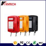 VoIP LCD de teléfono de emergencia resistente a la intemperie con teclado Koontech KNSP-18L