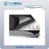 Hoja del grafito reforzada con la hoja de metal, Ss304, 316L, CS
