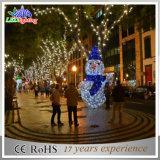 Luz de la decoración del muñeco de nieve de la Navidad del sitio LED del partido del Año Nuevo de la Navidad