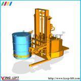 Rotator ereto Yl600A do cilindro de aço de um funcionamento de 360 graus