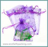 Rosen-Organza-Beutel für Geschenk-verpackenorganza-Beutel-Hochzeits-Beutel