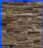 Revêtement en pierre, pierre de revêtement, pierre concrète, pierre artificielle, pierre manufacturée (ATA-04)