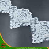 Ricamo Lace su Organza con Beads & Sequins (HD-043)