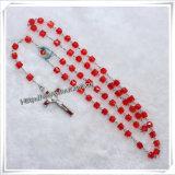 L'azzurro religioso all'ingrosso borda il fornitore del rosario dei branelli di preghiera (IO-cr270)