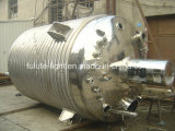 Acero inoxidable Industrail Tanque Reactor