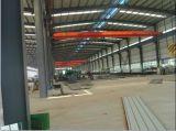 中クレーンが付いている鉄骨構造フレームの工場または研修会の建物