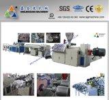 Linha de produção de dupla linha de PVC / extrusão de tubulação dupla / máquina de tubulação de PVC duplo / linha de produção de tubos de PVC / linha de produção de tubos de PEAD / extrusora de tubos de PVC