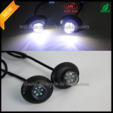 Coches luz de advertencia Hide a Way en 2X6 LED blanco