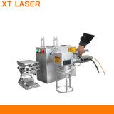 Mini machine incluse de découpage et d'inscription de laser d'argent de l'or 50W
