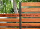 Barra plana resistente a la corrosión de Fiberglass&FRP&GRP para la cerca del jardín