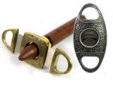 Het Uiterst dunne Roestvrij staal van Lubinski Gouden & de Snijders & de Schaar van de Sigaar Silve (S-Li-004)