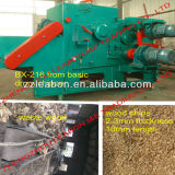 Operation容易な25-35mm Length 1mm Thickness High Output 8-12 T/H Bx-316 Wood Drum Chipper Without Foundation