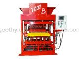 Mini argile manuel d'Eco 7000plus enclenchant la machine creuse de bloc