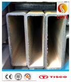 Câmara de ar inoxidável do quadrado da tubulação de aço de ASTM 309S 316ti