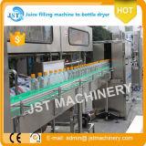 Botella caliente del jugo que aclara las máquinas que capsulan de relleno
