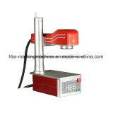 10W 플라스틱 표하기를 위한 소형 끝 펌프 Laser 표하기 기계