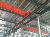 Werkstatt-Gebrauch 10 Tonnen-einzelner Träger-Laufkran mit elektrische Hebevorrichtung-anhebender Maschinerie