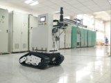 크롤러 하부 구조 로봇 고무 궤도 포좌 무선 심상 취득 (K02SP8MCCS2)