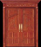 호화스러운 티크 목제 양쪽으로 여닫는 문 디자인 (CL-2047)