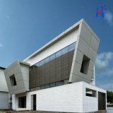 Painel composto de alumínio popular dos materiais de construção do edifício