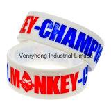 Großhandelsförderung-Firmenzeichen passen Silikon-Armband an