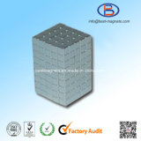 10X10X10高精度の小さい常置NdFeBの立方体の磁石