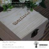 Caja de embalaje de la joyería de madera de encargo de Hongdao con el precio barato Wholesale_L