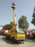 Isuzu 4X2の空気作業手段12mの高度操作のトラック
