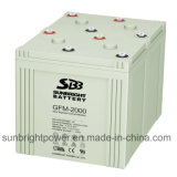 SBB 2V2000ah Marine Equipment AGM Battery 세륨 RoHS UL