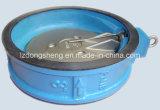 Klep van de Controle van de Schommeling van de Schijf van het Type van Wafeltje van het Gietijzer de Enige
