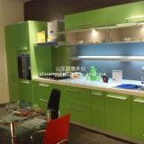 Gabinete de cozinha revestido de PVC de alta qualidade e chinês de alta qualidade