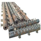 En-tête de chaudière d'acier du carbone avec la technique de soudure