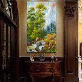 卸し売り高品質の装飾の油絵、美しい松の木の油絵