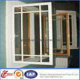 Fenêtre en aluminium en verre vitrée par double