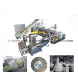 Pp.-PET weicher Film-Plastikaufbereitengranulierer-Maschine mit Agglomerator