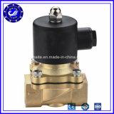 China-Hersteller 2W preiswertes elektrisches magnetspule-Wasser-Ventil Gleichstrom-12V Messing