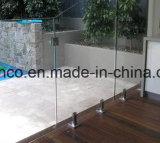 Edelstahl-Glaszapfen für das Frameless Pool-Fechten