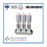 Kundenspezifische Investitions-Gussteil-Maschine zerteilt die Aluminiumunterlegscheibe CNC maschinelle Bearbeitung