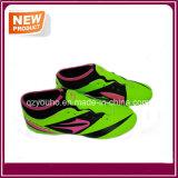 工場安い薄緑のカラーサッカーの靴(YHS012)