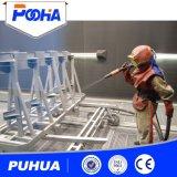 クリーニング装置の複雑な鉄骨構造のサンドブラスト部屋機械