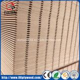Fábrica Grooved ranurada del MDF Slatwall Linyi de la tarjeta