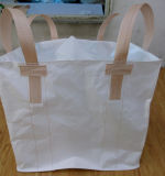 Grand sac en bloc tissé par pp blanc