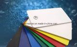 Tarjeta de la espuma del PVC que hace publicidad de la tarjeta de la muestra de la tarjeta