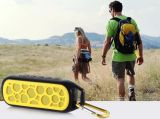 マイクロフォンが付いているBluetoothの携帯用無線防水スピーカー