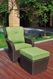 Mobília ao ar livre do Rattan do sofá de vime