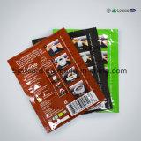 Offprinting 4 Plastic PE van de Ritssluiting van de Folie van Alluminum van de Kleur Zak